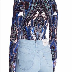 Free People Tops - Free People Bodysuit Women Medium Top Pick A Place